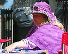 Purple Lady by Leon Heyns