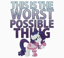 Rarity - Worst Possible Thing by Strangetalk
