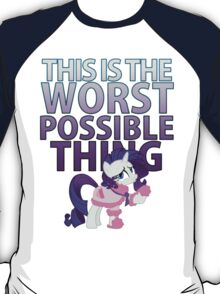 Rarity - Worst Possible Thing T-Shirt
