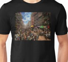 City - NY - Flavors of Italy 1900 Unisex T-Shirt
