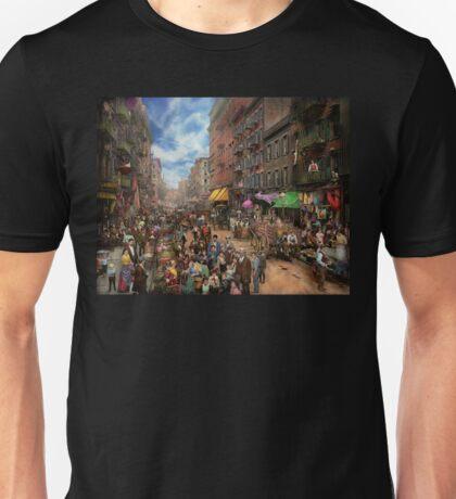 City - NY - Flavors of Italy 1900 Unisex T-Shirt