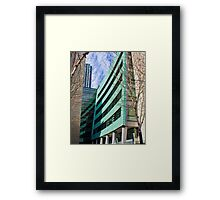 Architecture of Seattle Framed Print