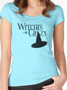 Witches Be Crazy Women's Fitted Scoop T-Shirt