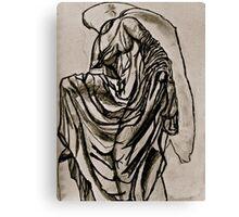 Grecian Bas Relief Canvas Print