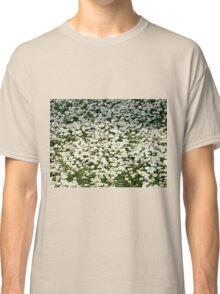 White daisies Classic T-Shirt