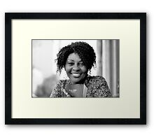 Brenda with Bible RO Framed Print