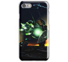 Hunter at night  iPhone Case/Skin