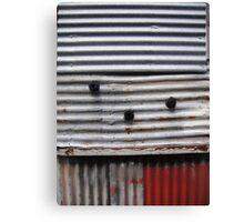 """Corrugations"", Inveresk, Launceston Canvas Print"