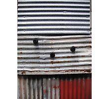 """Corrugations"", Inveresk, Launceston Photographic Print"