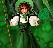 GATHERING SHAMROCKS IN A FROCK ALL MADE OF GREEN  by ✿✿ Bonita ✿✿ ђєℓℓσ