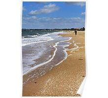 Waters' Edge - Mordialloc-Mentone Beach - Victoria - Australia Poster
