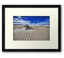 Dead Tree of Reality Framed Print