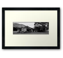 Decayed Farmhouse Framed Print