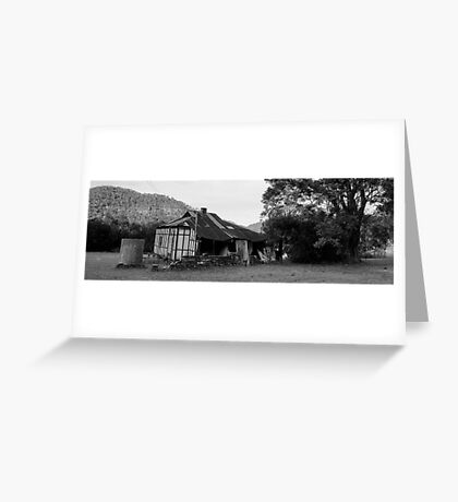 Decayed Farmhouse Greeting Card