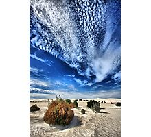 Desert Clouds Photographic Print