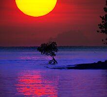 Fireball Bali Sunrise by JohnKarmouche