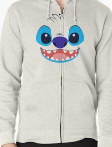 Stitch! Zipped Hoodie