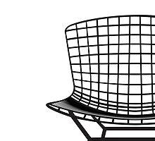 Modern Mid Century Chair Art Classic 1952 Steel by kken01