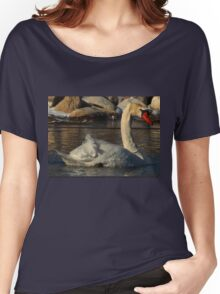 Mute Swan Women's Relaxed Fit T-Shirt