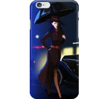 Rarity investigate pin-up iPhone Case/Skin