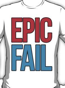 Epic Fail (red/sky blue) T-Shirt