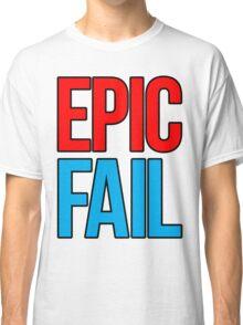Epic Fail (red/sky blue) Classic T-Shirt