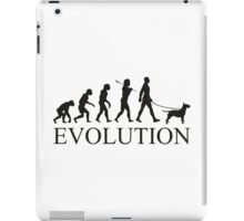 EVOLUTION bull terrier iPad Case/Skin