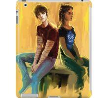 Jordan Kyle & Maia Roberts  iPad Case/Skin