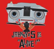 Johnny 5 is ALIVE! One Piece - Long Sleeve