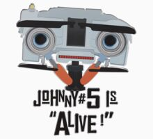 Johnny 5 is ALIVE! Baby Tee
