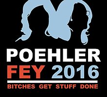 POEHLER FEY 2016 BITCHES GET STUFF DONE  by comelyarts