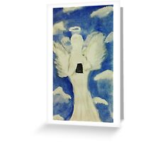Happy Easter, watercolor Greeting Card