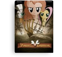 Ponies of the Caribbean  Canvas Print
