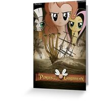 Ponies of the Caribbean  Greeting Card