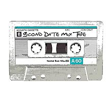 Mix Tape: Second Date Photographic Print