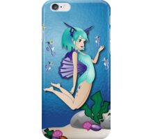 Twisted - Wild Tales: Nereida and the seahorse iPhone Case/Skin