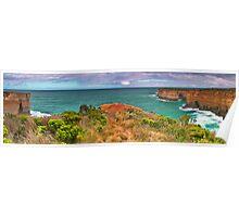 Shipwreck Coast Pano. Poster