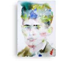 FRANZ KAFKA - watercolor portrait.5 Metal Print