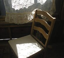 """Ghost Town Chair - Chloride, Arizona"" by waddleudo"