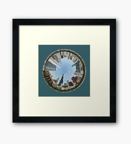 Chicago...A World of Fun Framed Print