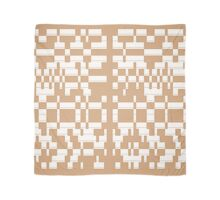 Punctuation Pattern #2 (Sand) Scarf