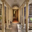 Colonnaded Courtyard, Vaucluse House, Sydney, NSW, Australia by Adrian Paul