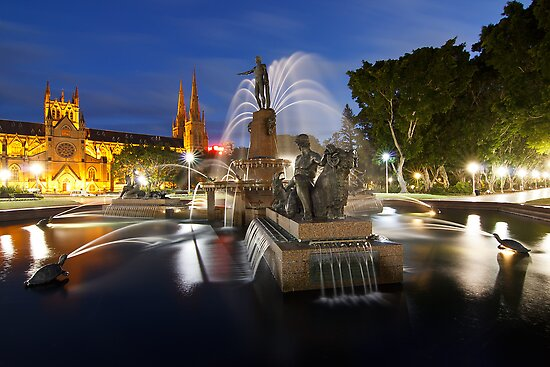 Archibald Fountain by Andi Surjanto