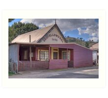 Oddfellows Hall, Sofala, NSW, Australia  Art Print
