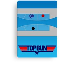 Top Gun - Minimal Poster Canvas Print