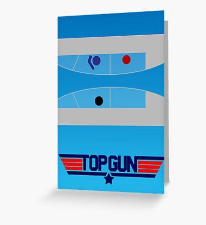 Top Gun - Minimal Poster Greeting Card