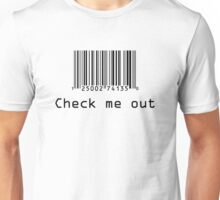 Check Me Out (Barcode) Unisex T-Shirt
