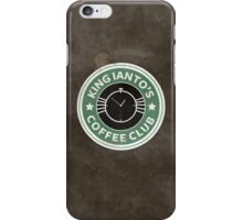 Ianto coffee club iPhone Case/Skin