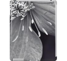 Clematis in Monochrome II iPad Case/Skin
