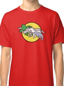 Horned Warrior Friends Classic T-Shirt